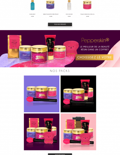 Pepperskin.fr